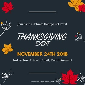 Minimal Thanksgiving Video Ad Design