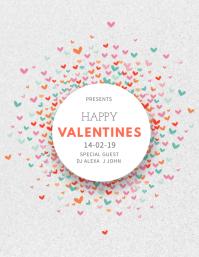Minimal Valentines Event Flyer Template