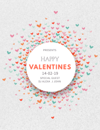 Minimal Valentines Event Flyer Template