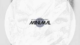 minimal youtube channel art