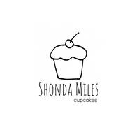 Minimalist Cupcake Bakery Logo template