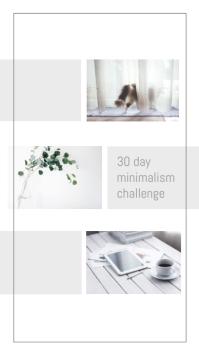 Minimalist Instagram Story Feature Ad