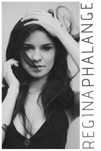 Minimalistic Black And White Model Fashion Flyer Template Comp Card