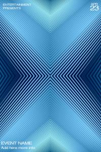 Minimalistic Illusion Flyer Template