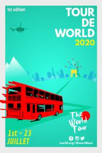 Minimalistic Tourism Poster