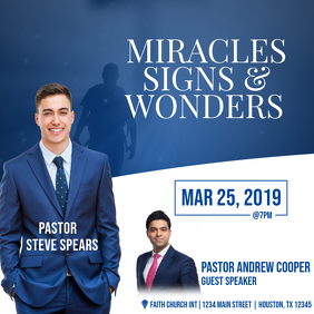 Miracles Signs & Wonders