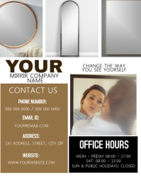 Mirror Company Flyer Template
