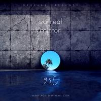 Mirror Music The Mixtape CD Cover Copertina album template