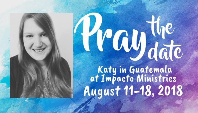 Missions Trip Prayer Card