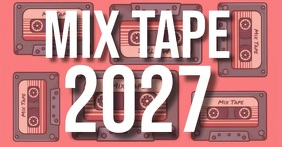 MIX TAPE AD facebook share TEMPLATE
