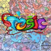Mixtape/Album Cover Art 专辑封面 template