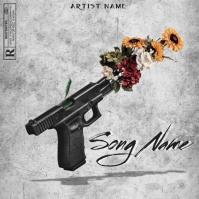 mixtape cover art design template Pochette d'album