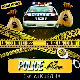 MIXTAPE COVER HIP HOP POLICE