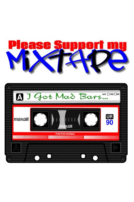 mixtape Cartaz template