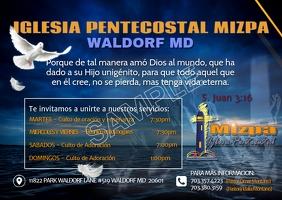 mizpa2 Postcard template