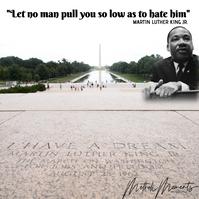 MLK 2021 Instagram Post template