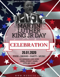 MLK DAY Flyer Template