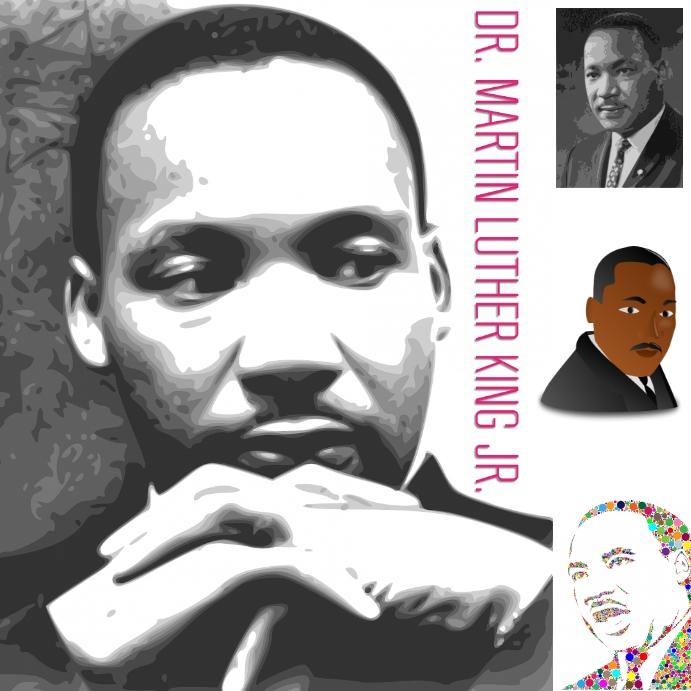 MLK Publicación de Instagram template