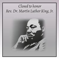 MLK HOLIDAY Publicação no Instagram template