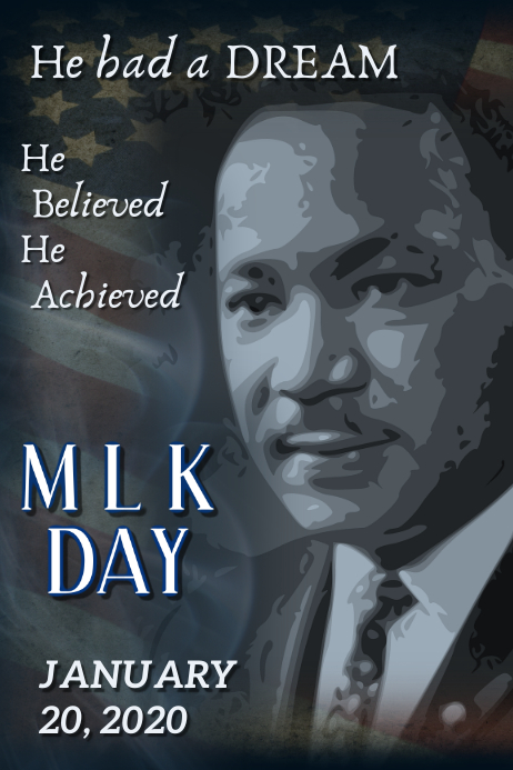 MLK Jr Poster