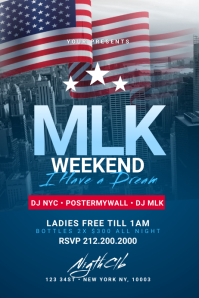 MLK Weekend Poster Template