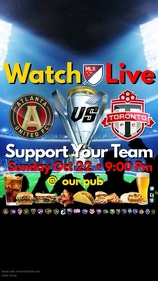MLS Match in your Pub