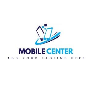 mobile computer repair logo template design Логотип