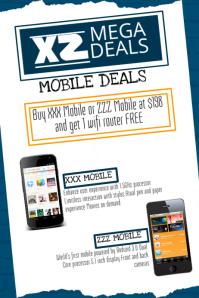 Mobile Deals Flyer Template