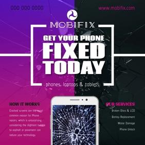 Mobile Fix Square Video