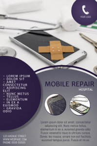 Mobile Repair Flyer Template