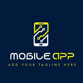 mobile repair logo icon template