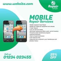 Mobile Repair Services Ad Instagram Post template