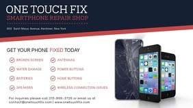 CELL PHONE REPAIR BANNER Business Advertising Sales Professional Banner
