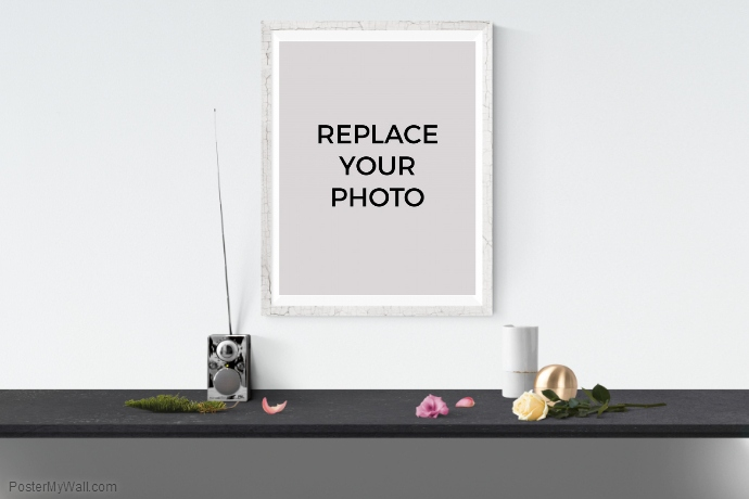 poster mockup template postermywall