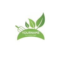 Modèle Logo Jardinage aménagement paysager template