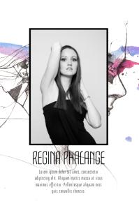 Model Agency Art Flyer Template