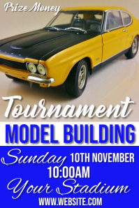 model building Плакат template