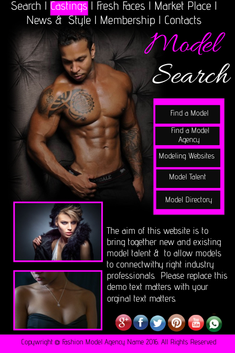 search Adult model