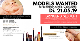 Models Wanted Beauty Cosmetic Treatment