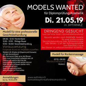 Models Wanted Beauty Salon