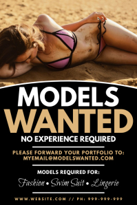 Models Wanted Poster