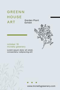 Modern Art Exhibition Poster Template