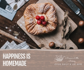 Modern Bakery Company Online Ad