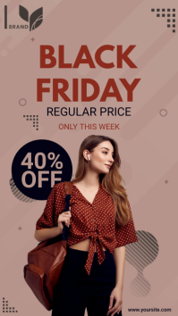 Modern Black Friday Sale Instagram Story Ad template