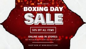 Modern Boxing Day Sale on Apparel Video Banner