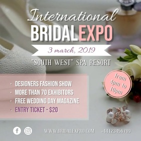 Modern Bridal Fair Video Ad