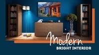 Modern Bright Interior ตัวอย่างภาพบน YouTube template