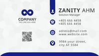 Modern Business Card Kartu Bisnis template