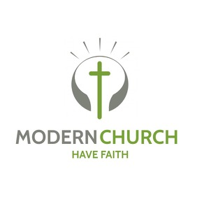 modern church logo icon template