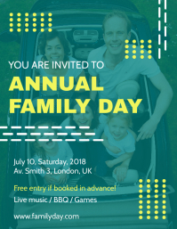 Modern Community Day Event Flyer Template